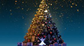 Jaarlijkse traditie Inluiden van de kerst met de Noszelisingers in de Beneluxlaan.